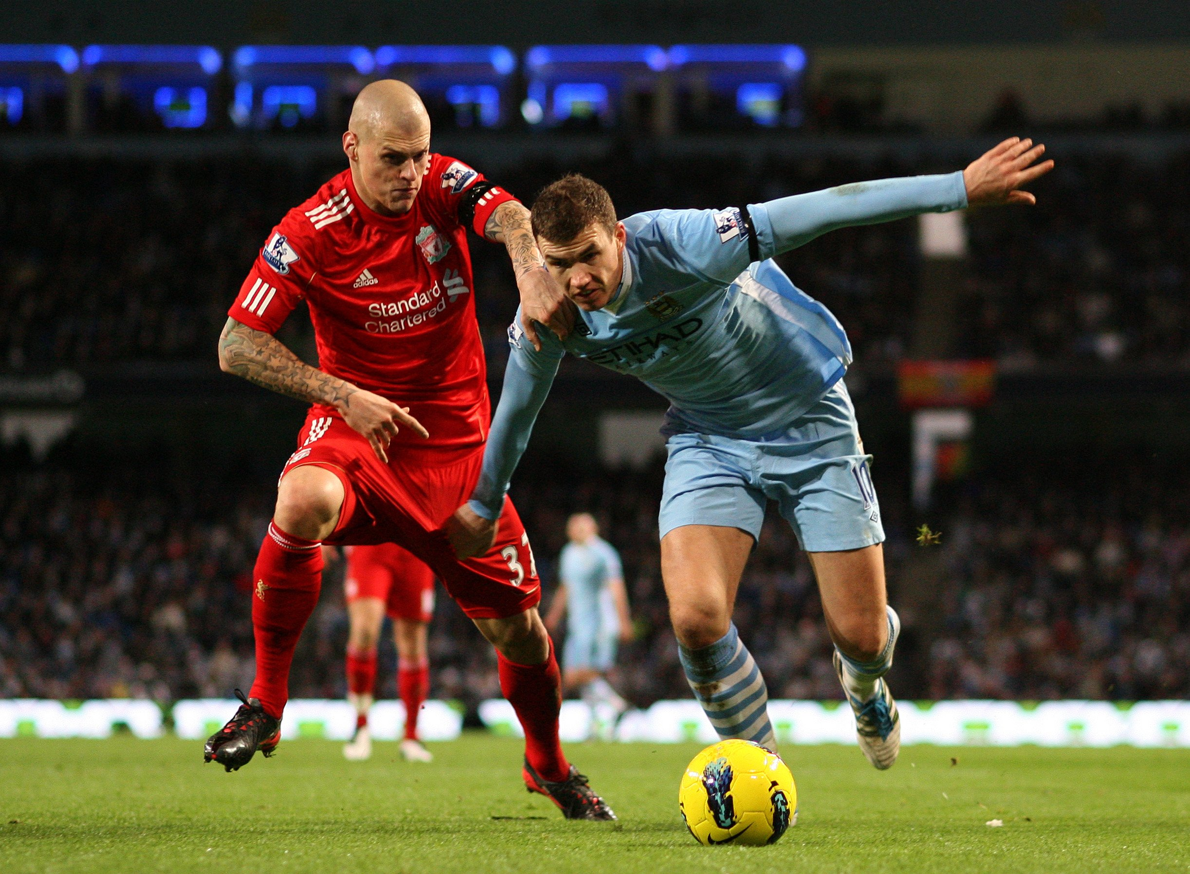Man City vs Liverpool Dzeko vs Skrtel Betting Preview