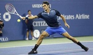 ROger Federer US Open Tennis 2014