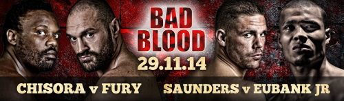 Fury vs Chisora Bad Blood
