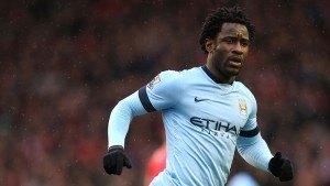 Wilfried Bony Manchester City vs Man United