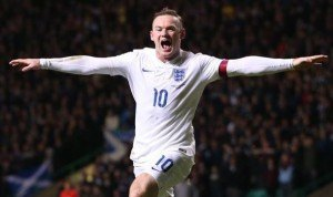 Wayne Rooney England Celebration