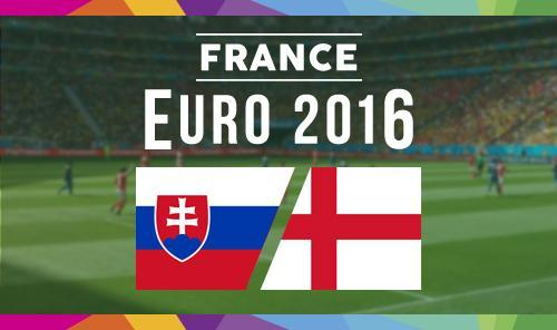 England vs Slovakia Euro 2016