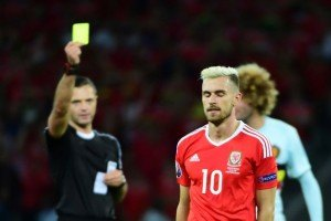 Aaron Ramsey is suspended for the Portugal match.