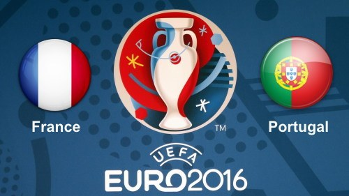 France vs Portugal Euro 2016