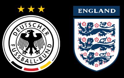Germany vs England Football International