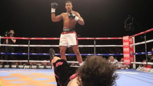 Anthony Joshua has won all of his 18 fights by knockout.