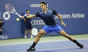ROger Federer US Open Tennis 2014