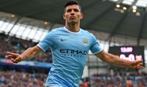 Sergio Aguero Man City vs Liverpool