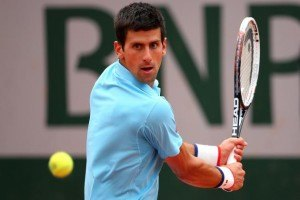 Novak Djokovic French Open tennis