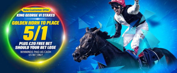 Coral Golden Horn 5/1 Ascot King George Image