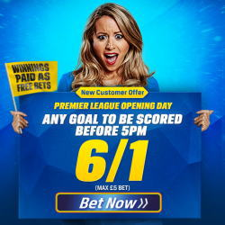 Coral 6/1 Premier League Goal Offer
