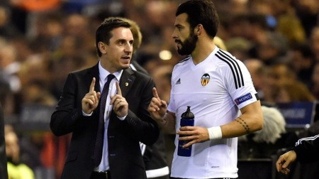 Gary Neville Valencia Barcelona