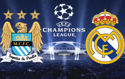 Man City vs Real Madrid Champions League