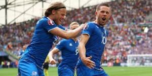 Iceland Celebrate at Euro 2016