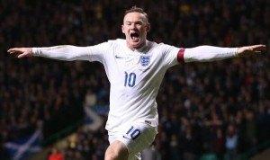 Wayne Rooney England Celebration