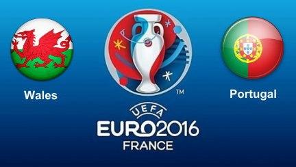 Wales vs Portugal Euro 2016