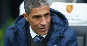Chris Hughton - Brighton manager