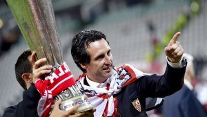 Unai Emery won the Europa League three times with Sevilla. He's looking to bring European success to PSG.