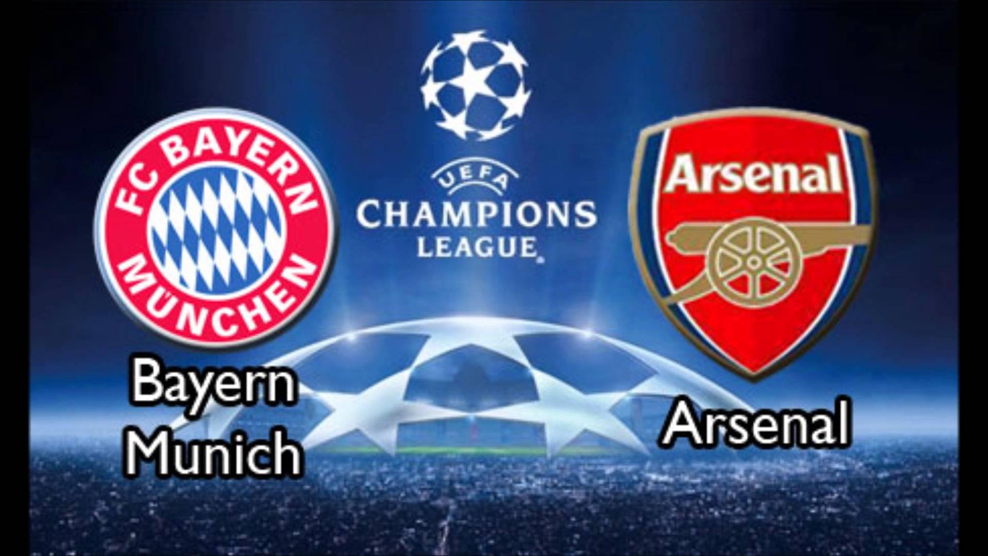 Bayern Munich vs Arsenal Champions League