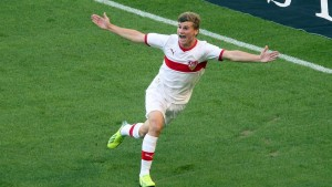 Can Timo Werner mark his first call up to the German squad with a goal?