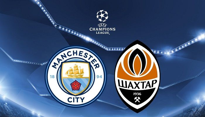 Man City vs Shakhtar Champions League