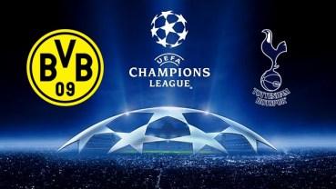Borussia Dortmund vs Tottenham Logos