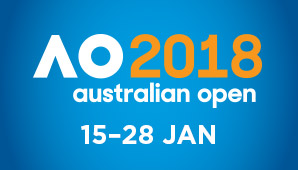 Australian Open Tennis 2018 Tournament Logo