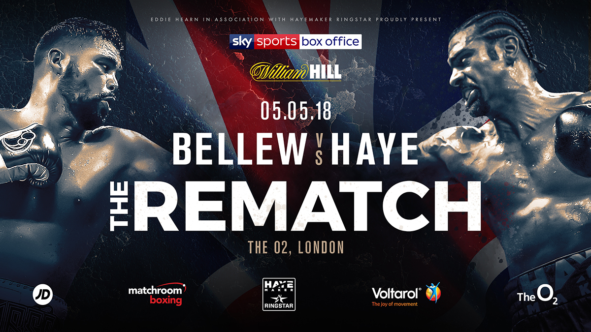David Haye vs Tony Bellew 2