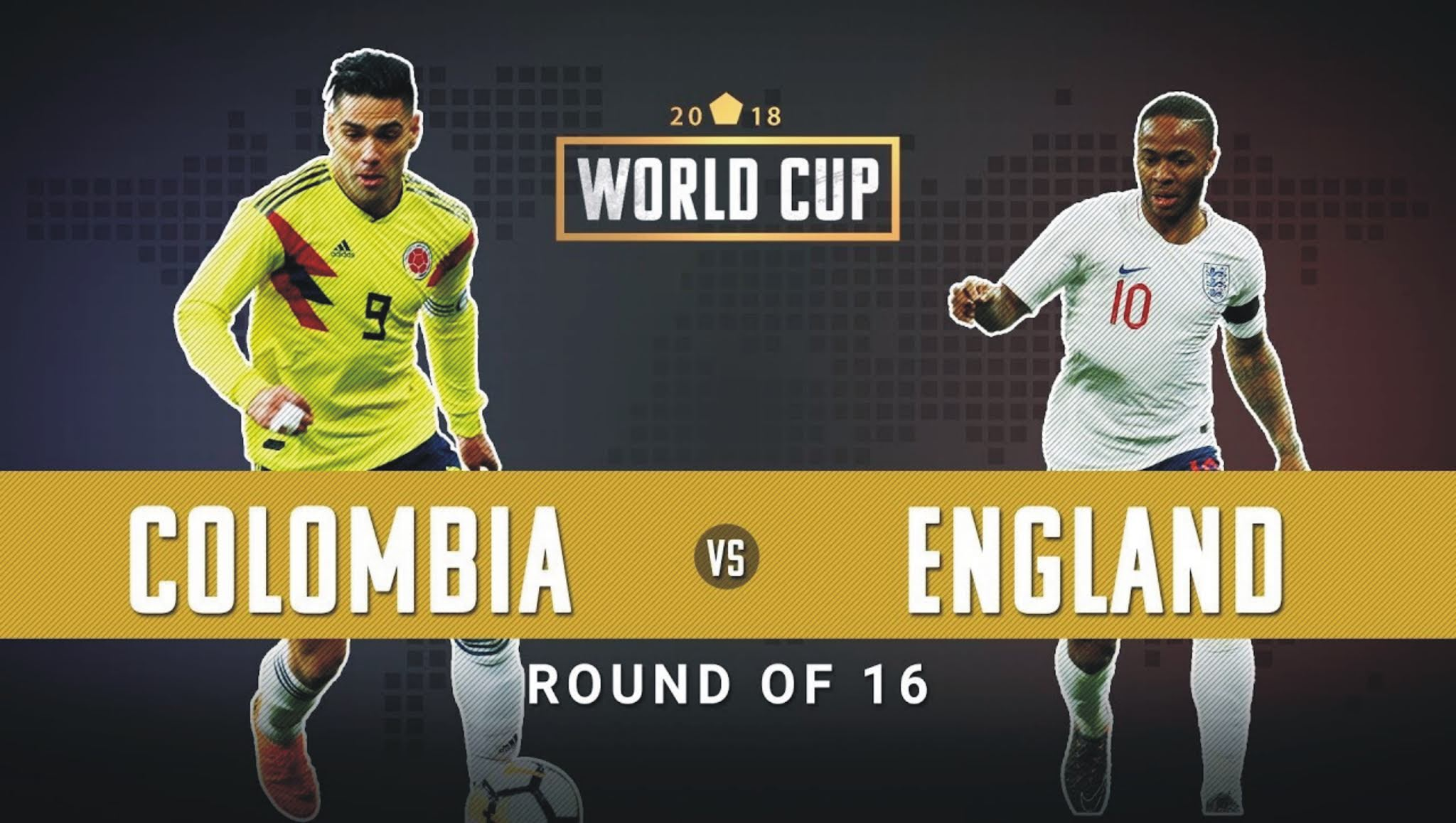 England vs Colombia World Cup 2018