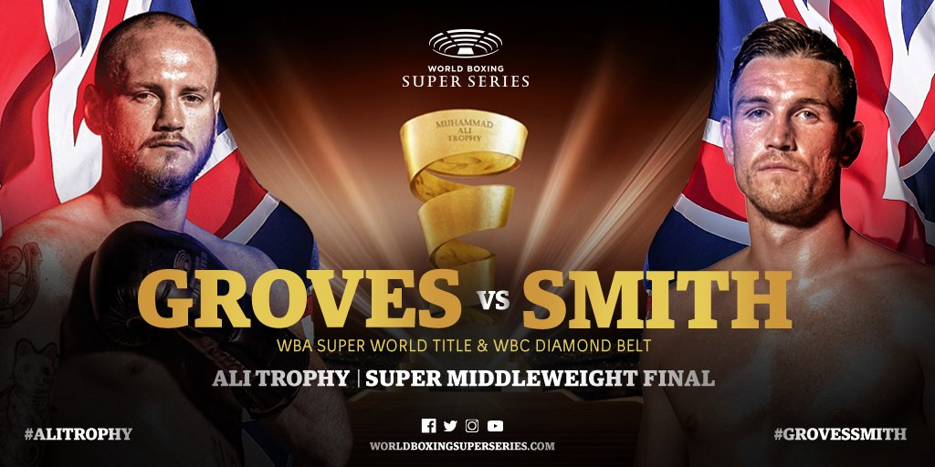 George Groves vs Callum Smith Boxing Super Series Final
