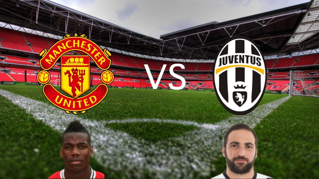 Man Utd vs Juventus Champions League