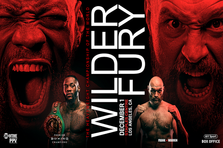 Tyson Fury vs Deontay Wilder Fight Poster