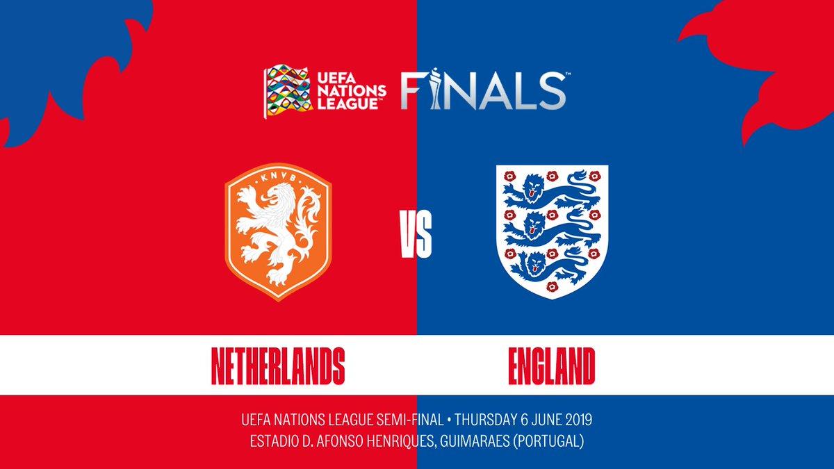 England vs Netherlands UEFA Nations League