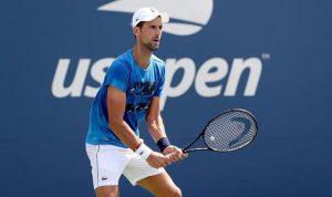 Novak Djokovic US Open Tennis