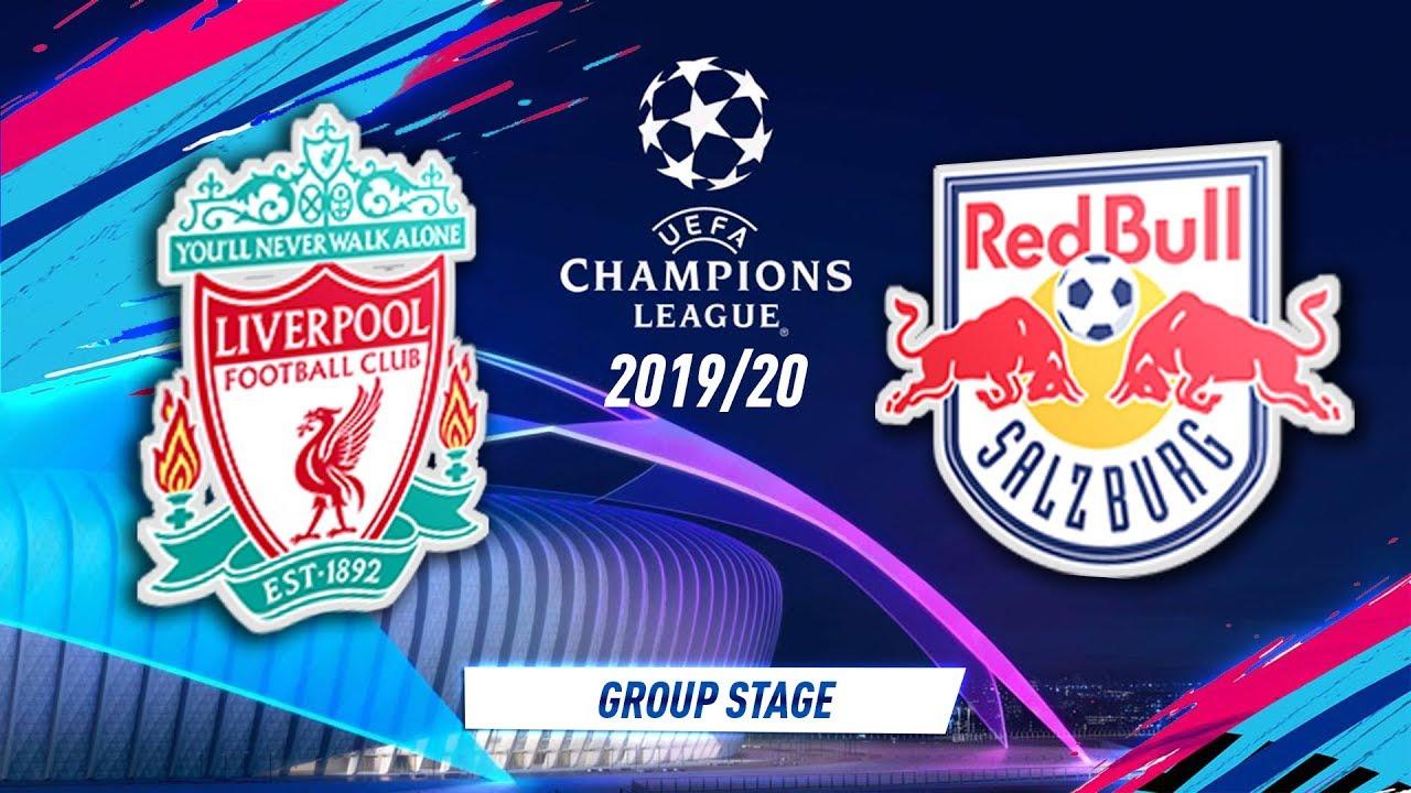 Liverpool vs RB Salzburg Logos