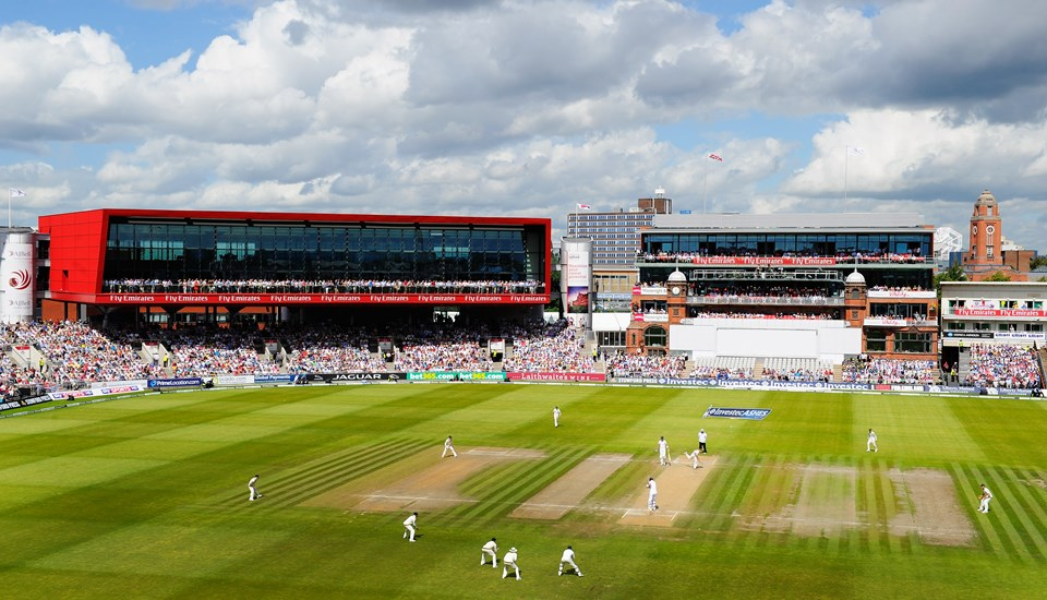 Old Trafford Cricket ground hosts the 4th Ashes test match