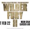 Wilder vs Fury 2 Fight Poster