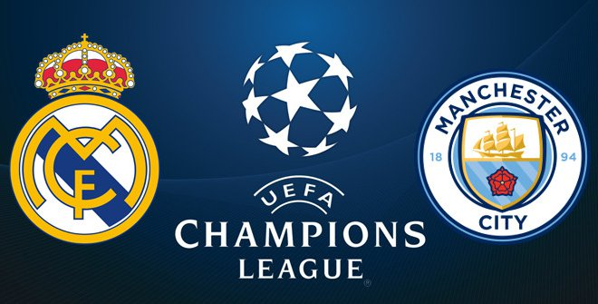 Real Madrid vs Man City Champions League