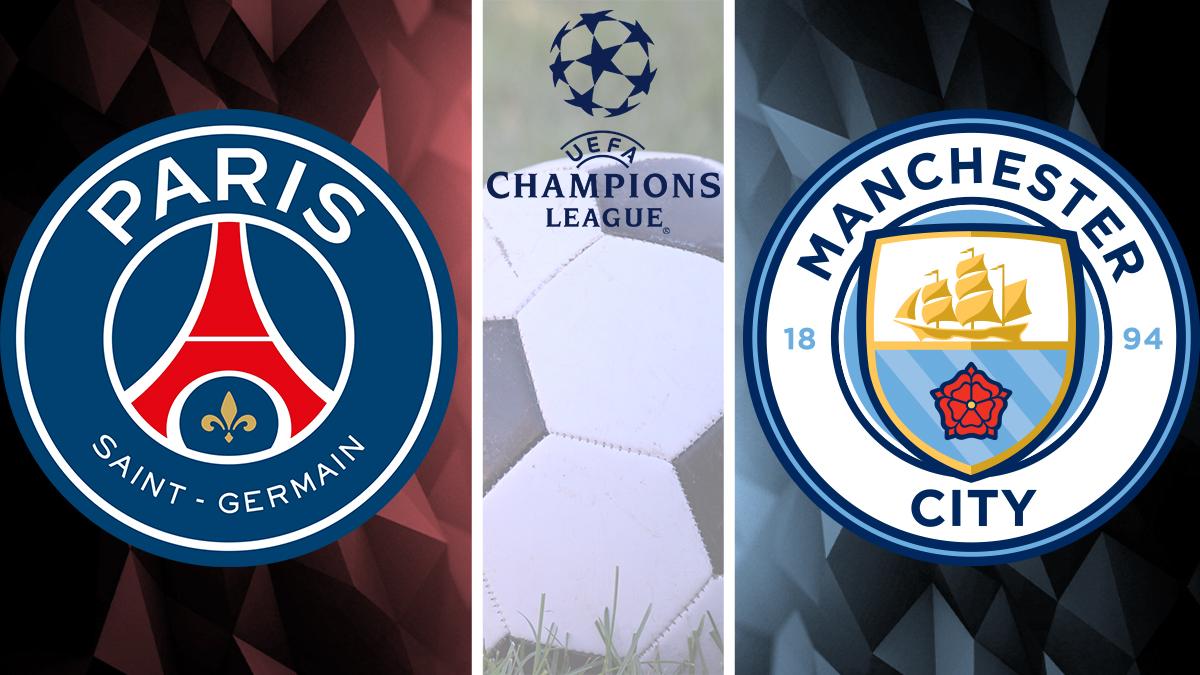 PSG vs Man City Champions League