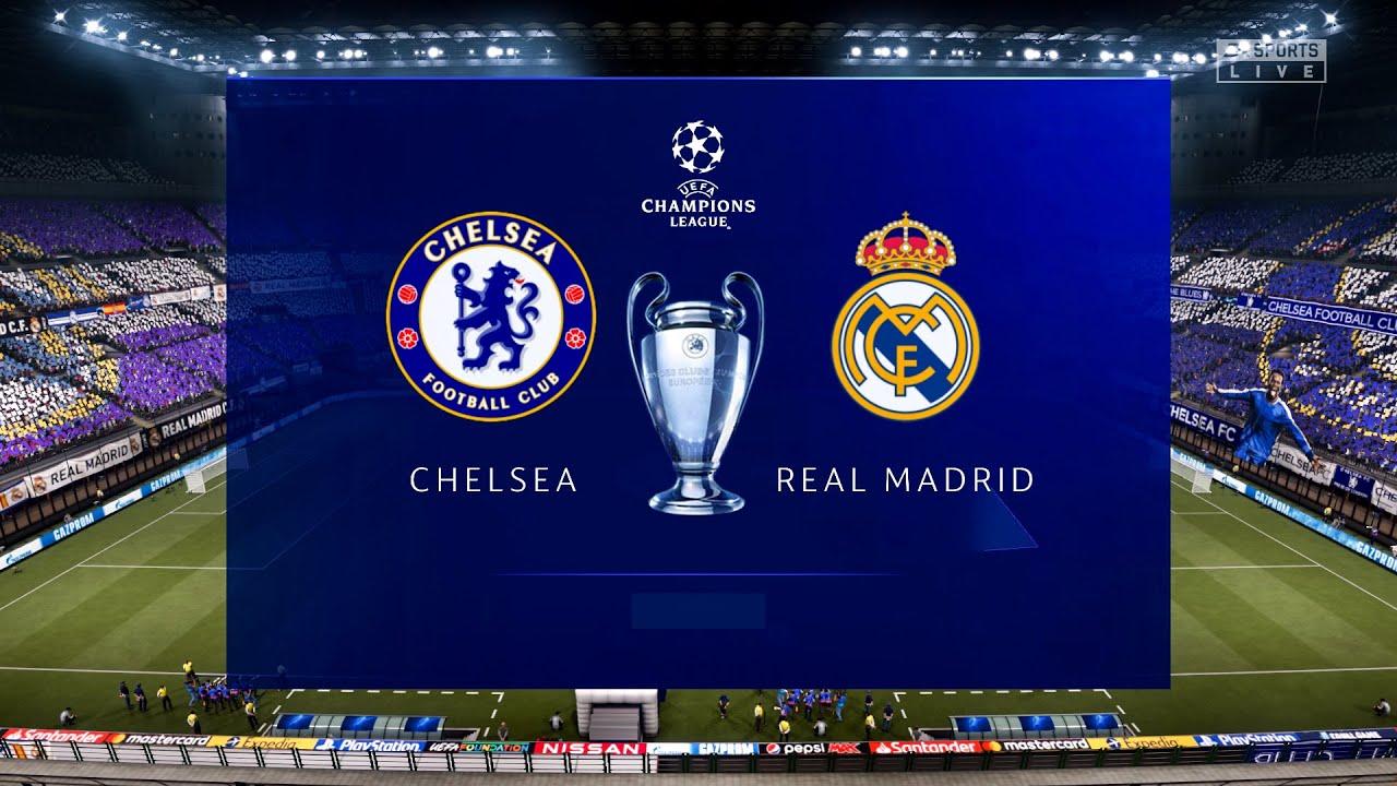 Chelsea vs real Madrid Champions league
