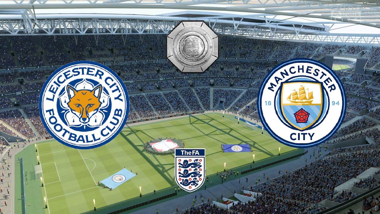 Man City vs Leicester Community Shield 2021